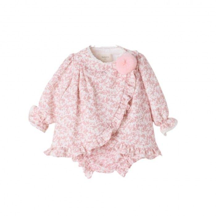 Pink Cotton Dress Set