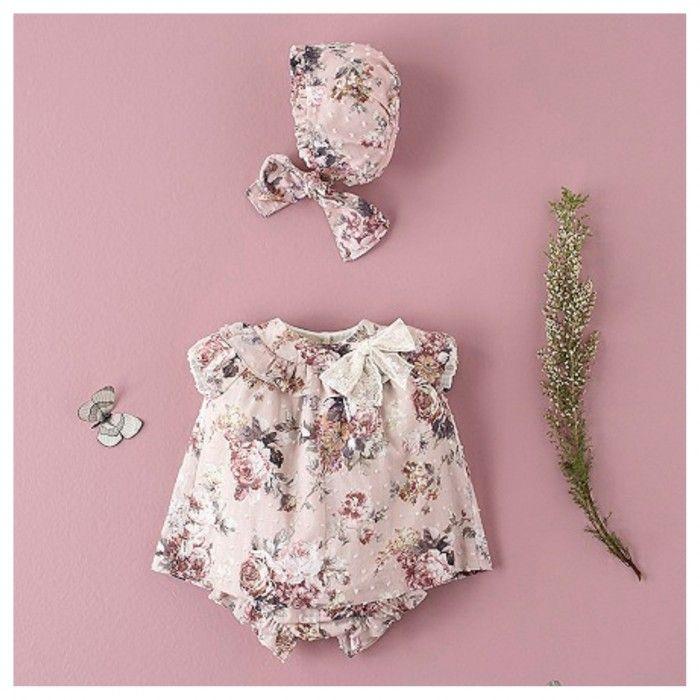 Conjunto Floral Menina