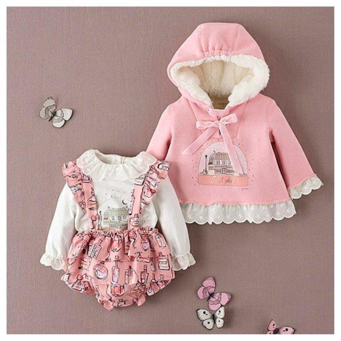 Baby Girls Pink Sweater