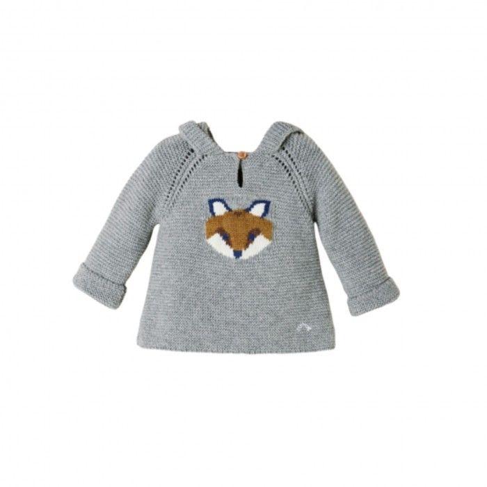 Sweater Bebé Cinza