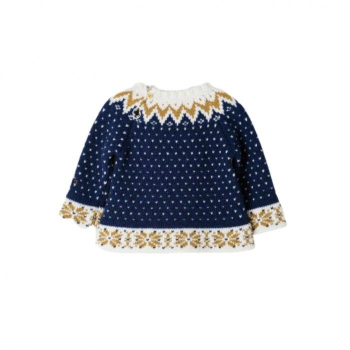 Sweater Azul Menino Nanos