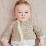 Beige Knitted Cardigan
