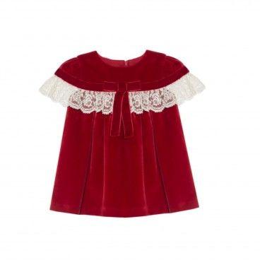 Vestido Veludo Vermelho