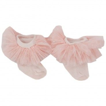 Baby Girl Pink Frilled Socks