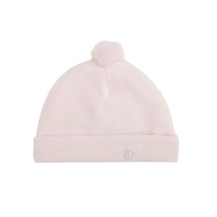 Pink Cotton Baby Hat