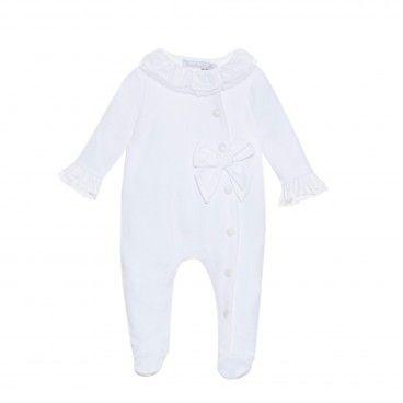 Babygrow Branco Algodão Patachou