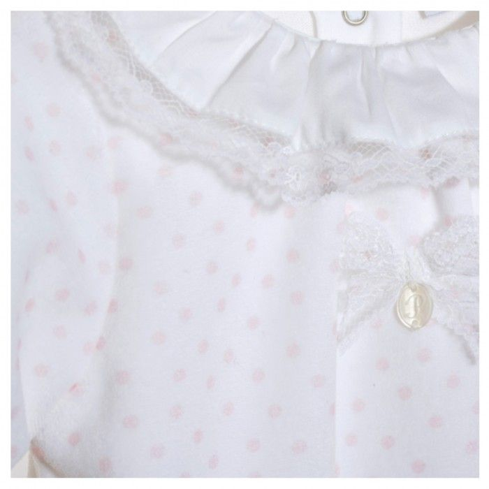 Babygrow Algodão Rosa