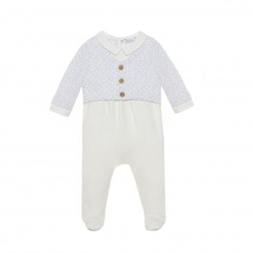 Babygrow Menino Light Grey