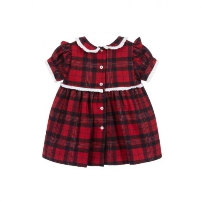 Vestido Menina Red Check Tartan