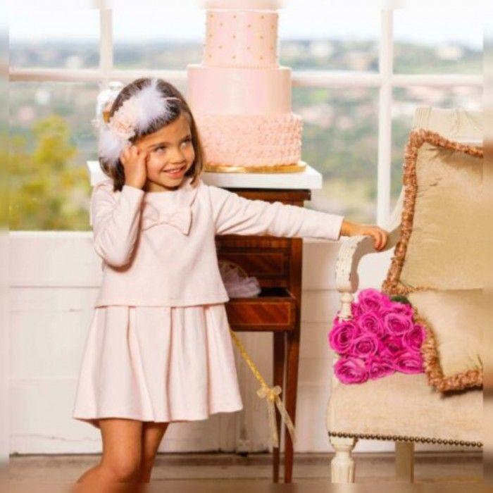 Patachou Pink Cotton Dress