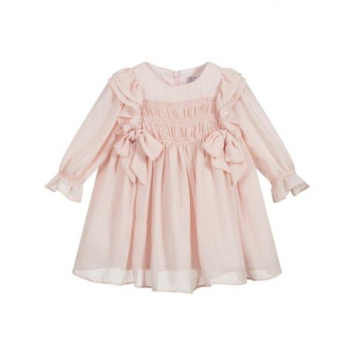 Pale Pink crepe Dress