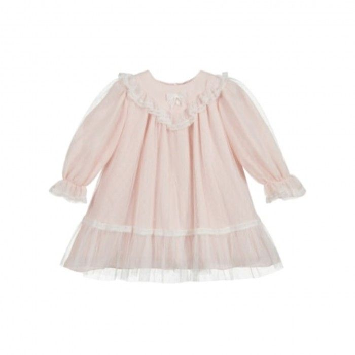 Pale Pink Tulle Dress