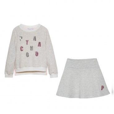 Conjunto Sweat & Saia Patachou