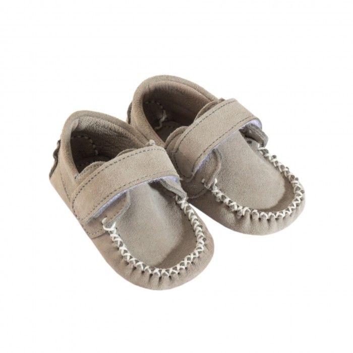 Baby Boys Melange Grey Shoes