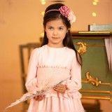 Vestido Menina Rosa Patachou