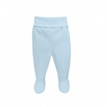 2 Pieces Pack Newborn Blue Cotton Leggings