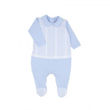 Babygrow Algodão Azul Menino