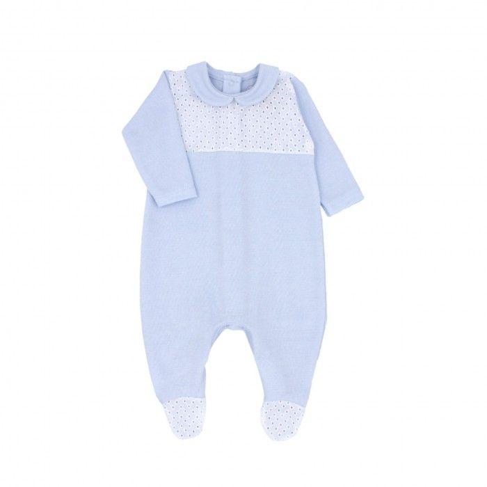 Babygrow Azul Algodão Menino