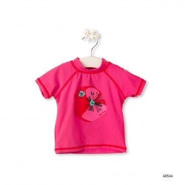 T-Shirt Lycra Leopard & Butterfly