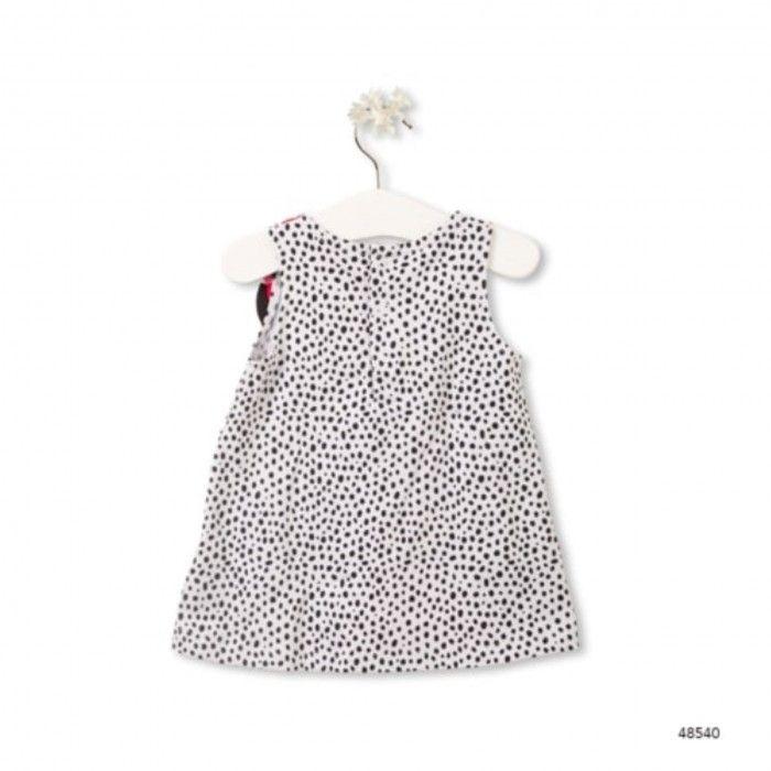 Vestido Algodão Menina Leopard & Butterfly