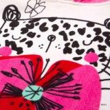 Poncho Leopard & Butterfly