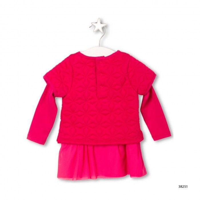 Conjunto Vestido & Collant Kokeshi