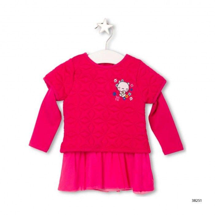 Kokeshi Baby Dress  &  Tights