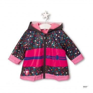 Girls Kokeshi Raincoat