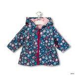 Girls Spacecat Raincoat