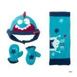 SpaceCat Baby Leece & Gloves Set