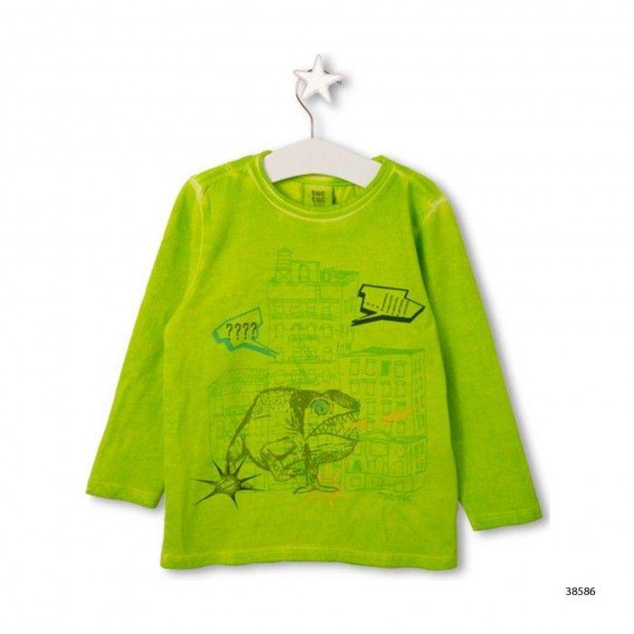 Sweatshirt Verde Menino Urban