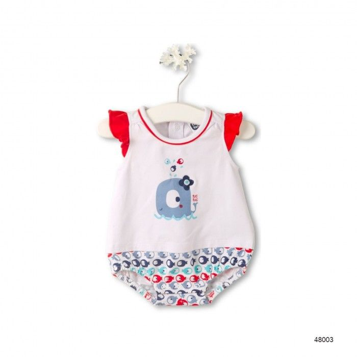 Baby Girl Cotton Romper