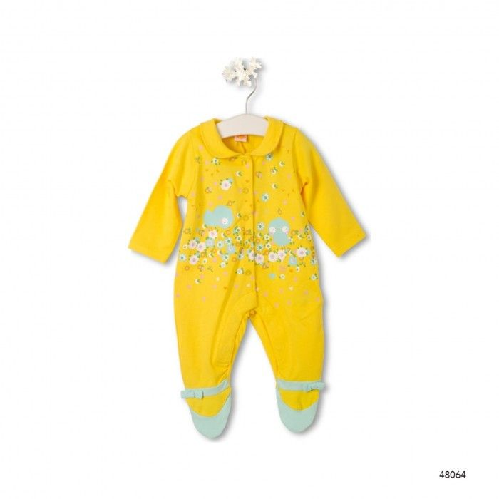 Girls Jersey Rompers L/S Picpic