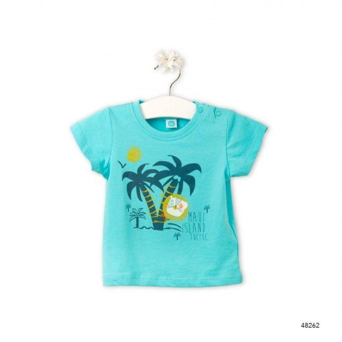 T-Shirt  Turquesa Maui Island