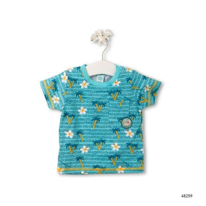T-Shirt Estampada Maui Island