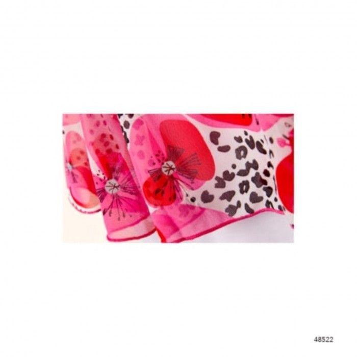Vestido Algodão Leopard & Butterfly