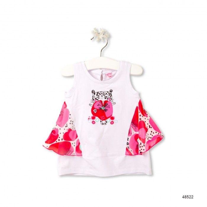 Baby Dress Leopard & Butterfly