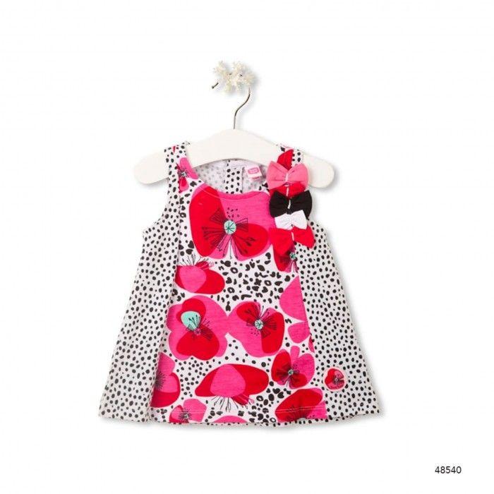 Baby Girl Dress Leopard & Butterfly