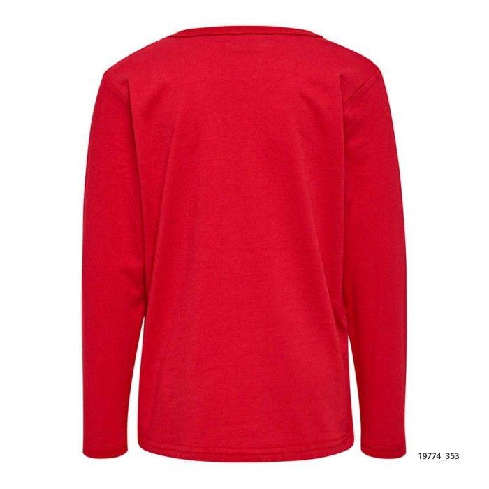 Red Cotton Sweatshirt Lego