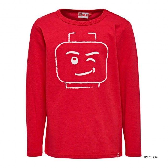 Sweatshirt Algodão Vermelha Lego