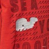 T-Shirt Menino Vermelha Tyler