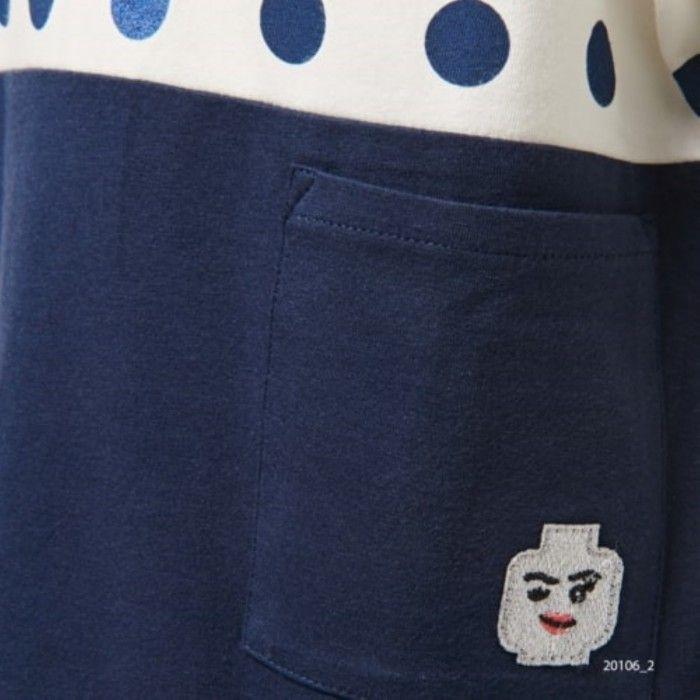 T-Shirt Menina Azul Tanya
