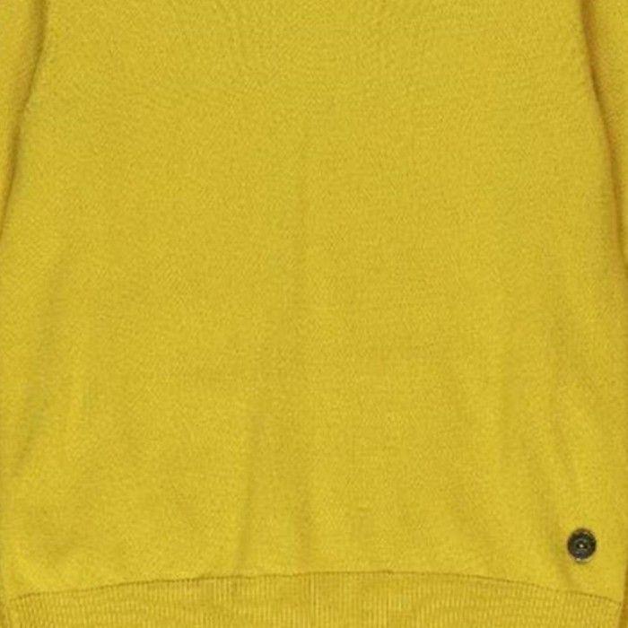 Pullover Amarelo Malha