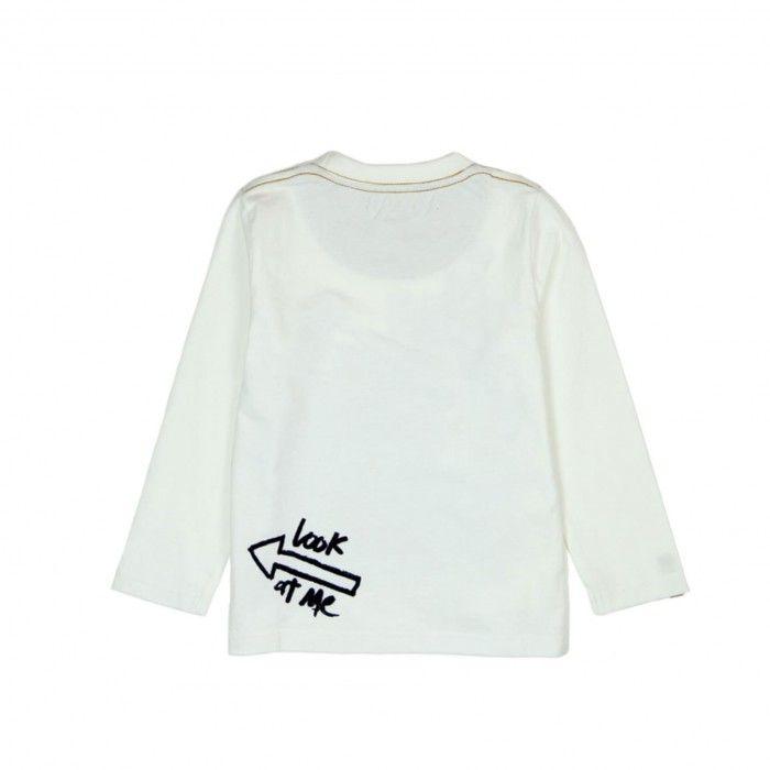 T-Shirt Branca Menino