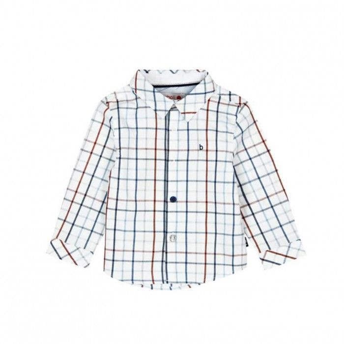 Camisa Menino Poplin