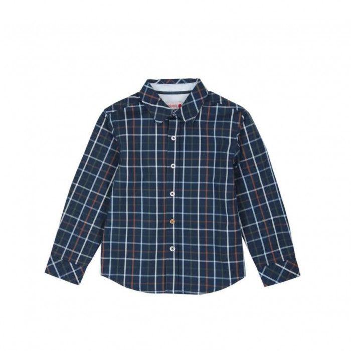 Camisa Azul Poplin