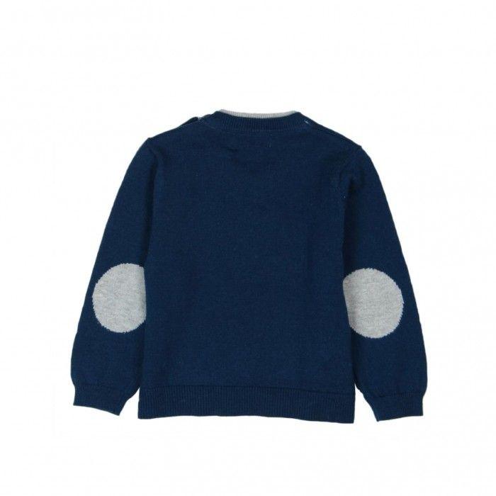 Pullover Azul Boboli