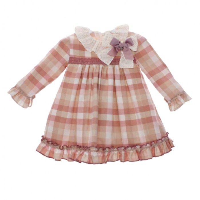 Girls Pink Dress Polonia
