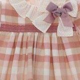 Vestido  Menina Rosa Polonia