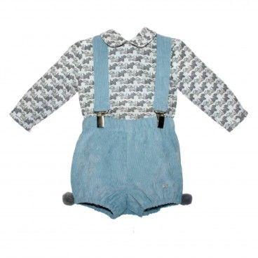 Conjunto Bebé 2 Peças - Camisa e Calção
